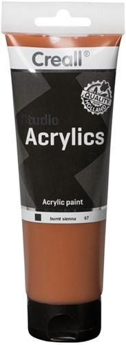 Acrylverf Creall Studio Acrylics  67 sienna gebrand