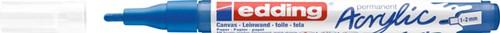 Acrylmarker edding e-5300 fijn gentiaanblauw