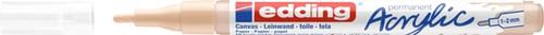 Acrylmarker edding e-5300 fijn warm beige