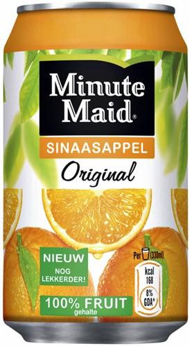 Frisdrank Minute Maid Orange blikje 0.33l