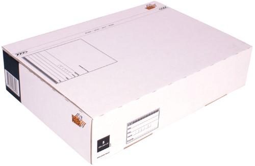 Postpakketbox 5 CleverPack 430x300x90mm wit