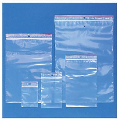 Verpakkingszak grip 80x125mm 50mu hersluitbaar 100 stuks