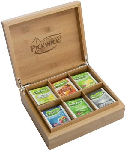 Theekist Pickwick Fair Trade inclusief 6 smaken thee