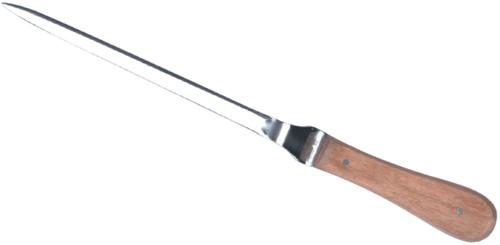 Briefopener Reuser troffelmodel greep hout