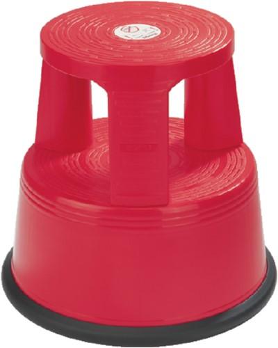 Opstapkruk Desq 42cm kunststof rood