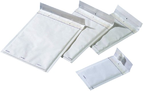 Envelop Jiffy luchtkussen nr15 242x275mm wit 100stuks