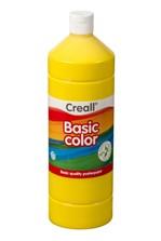 Plakkaatverf Creall basic 02 primair geel 1000 ml
