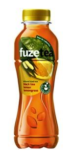 Frisdrank FuzeTea Lemongrass petfles 0.40l
