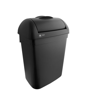 Afvalbak BlackSatino Hygiene box 8 liter zwart