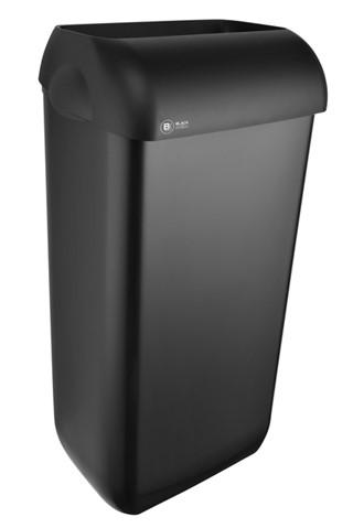 Afvalbak Satino Black 23 liter zwart