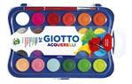 Gouache Giotto 30mm doos à 24 kleuren met penseel