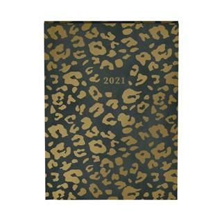 Agenda 2021 leopard green