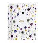 Agenda 2021 wire-o flowers white