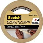 Afplaktape Scotch Classic 36mmx50m beige