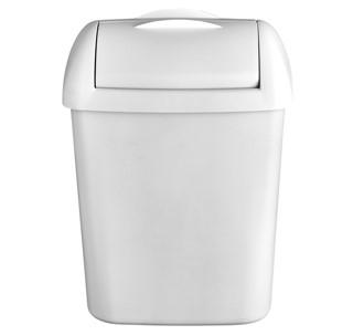 Afvalbak Euro Hygienebak 8 liter wit