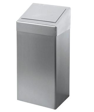Afvalbak Euro 50 liter RVS