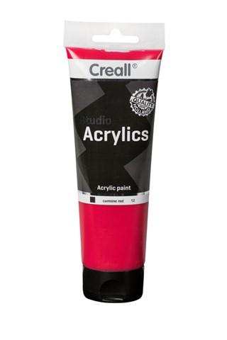 Acrylverf Creall Studio Acrylics 12 karmijn