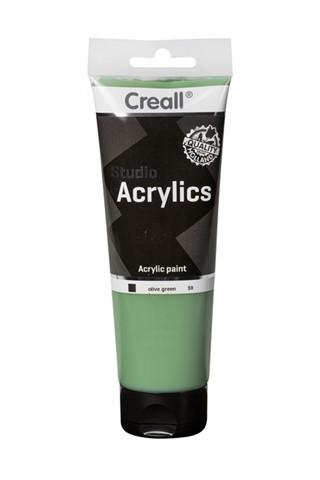 Acrylverf Creall Studio Acrylics  59 olijfgroen