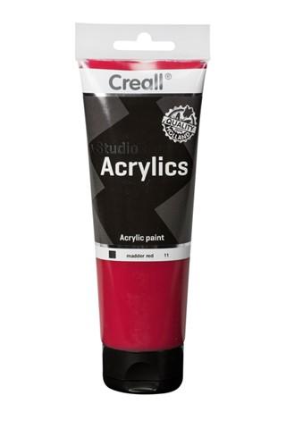Acrylverf Creall Studio Acrylics  11 dieprood