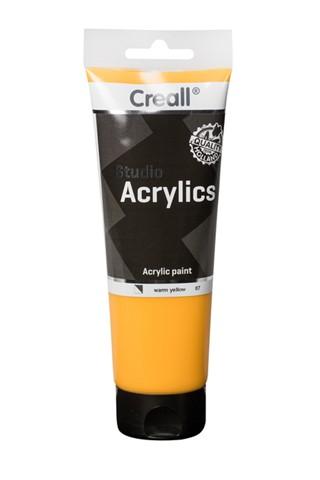 Acrylverf Creall Studio Acrylics  07 warmgeel