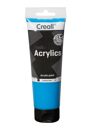 Acrylverf Creall Studio Acrylics  30 primair blauw