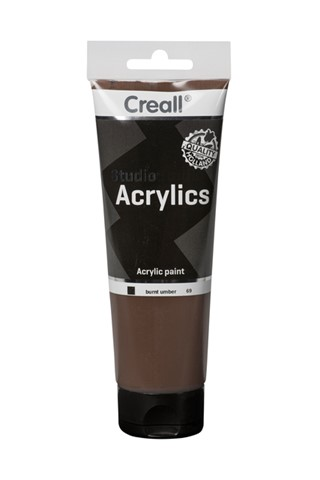 Acrylverf Creall Studio Acrylics  69 omber gebrand