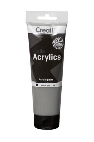 Acrylverf Creall Studio Acrylics  98 neutraal grijs