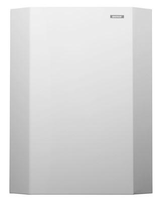 Afvalbak Katrin 900788 25liter Metaal wit