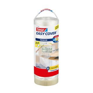 Afdekfolie Tesa 57117 easy cover navulling 2,6mx17m