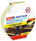 Antisliptape Tesa 55580 25mmx5m fluorescent