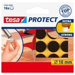 Beschermvilt Tesa antikras 57892 18mm rond bruin