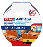 Antisliptape Tesa 55587 25mmx5m zwart