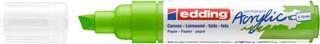 Acrylmarker edding e-5000 breed  geelgroen