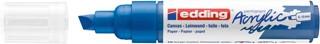 Acrylmarker edding e-5000 breed  gentiaanblauw