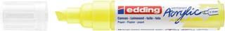Acrylmarker edding e-5000 breed  neon geel