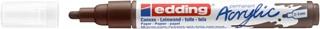 Acrylmarker edding e-5100 medium chocoladebruin