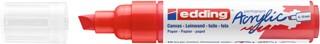 Acrylmarker edding e-5000 breed  verkeersrood