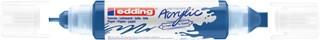 Acrylmarker edding e-5400 3D double liner gentiaanblauw