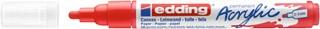 Acrylmarker edding e-5100 medium verkeersrood