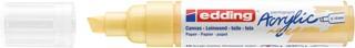 Acrylmarker edding e-5000 breed  pastel geel