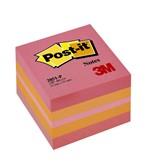 Memoblok 3M Post-it 2051 51x51mm kubus roze