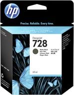 Inkcartridge HP F9J64A 728 mat zwart