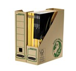 Tijdschriftcassette Bankers Box Earth A4 80mm bruin