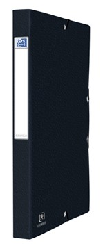 Elastobox Oxford Eurofolio A4 25mm zwart