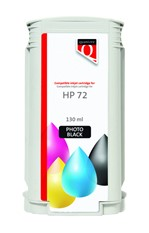 Inkcartridge Quantore HP 72 C9370A foto zwart