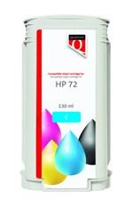 Inkcartridge Quantore HP 72 C9371A blauw