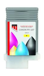 Inktcartridge Quantore Canon PFI-107 geel