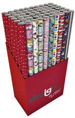 Inpakpapier Hoomark all occasions 200x70cm assorti