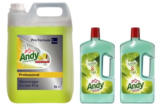 Allesreiniger Andy citroen fris 1 liter