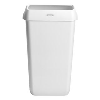 Afvalbak Katrin 91899 25liter wit 2 stuks